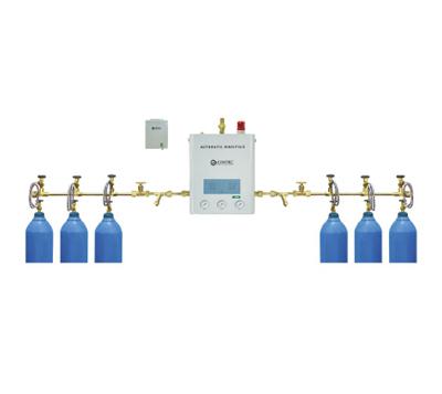 中心供氧-氧气主站(3*2)组汇流牌